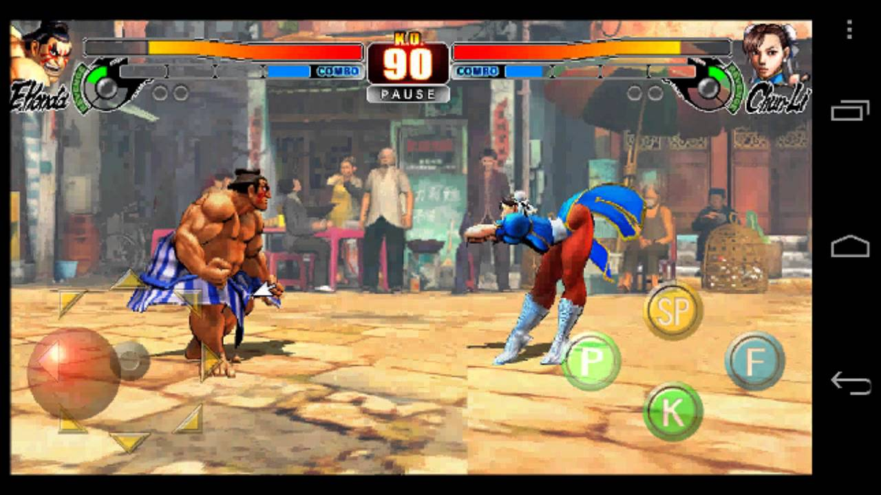 Street Fighter 4 apk free download for android